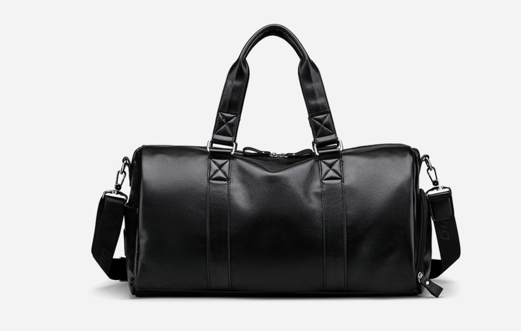 Vintage Style Eco-Leather Travel Bag