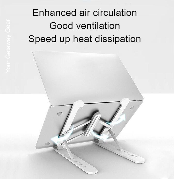 Sleek Design Lightweight Folding Laptop Stand